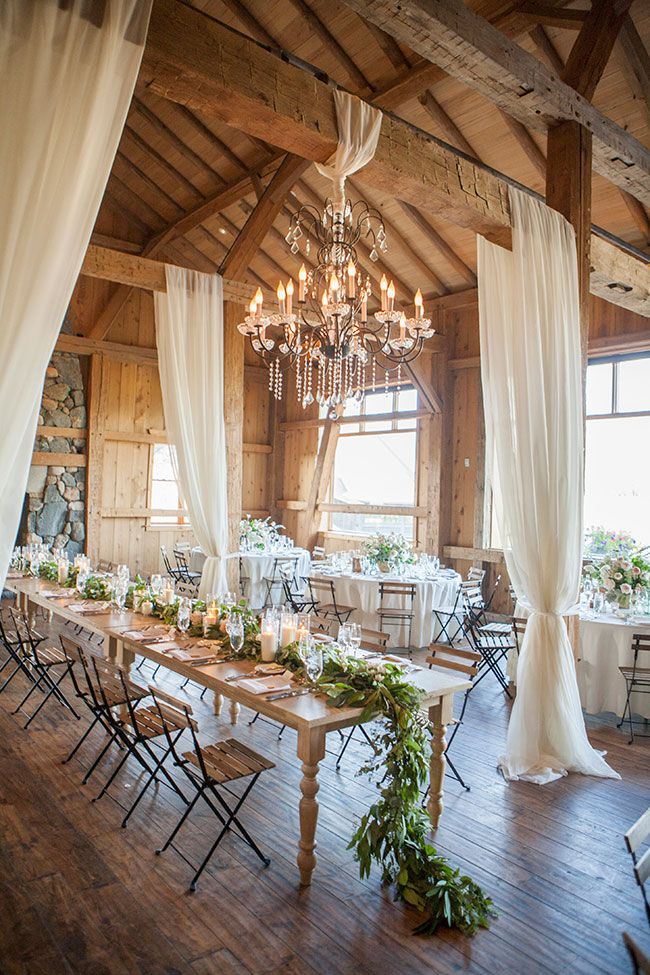 because the best dining room design inspiration comes from wedding receptions... IMHO #Necessary_Neutrals