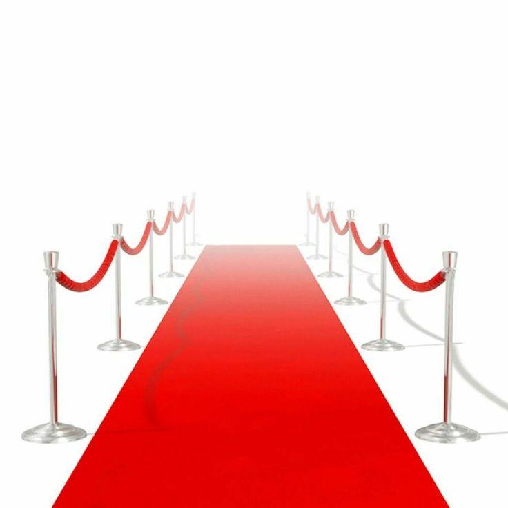 eBay #Sponsored vidaXL VIP Hochzeit Teppich Läufer Eventteppich rot Extra Schwe… – Dienstleistungen
