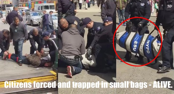 THEY HOGTIED AND THEN PUT A LIVE HUMAN BEING INTO A BODY BAG. ANIMALS!!!! Police Are Using a Barbaric New Tool to Fully Restrain Citizens