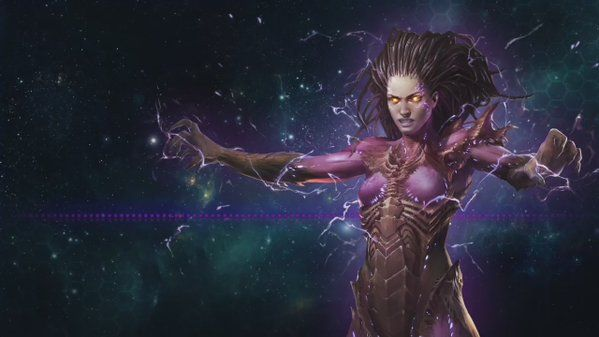 """@StarCraft on Twitter: """"You may have no interest in dying for the Swarm but perhaps you'd like to serve Kerrigan herself? #Patch3.7"""" #games #Starcraft #Starcraft2 #SC2 #gamingnews #blizzard"""