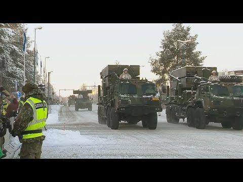 Finland Military Parade -- Desfile militar de Finlandia