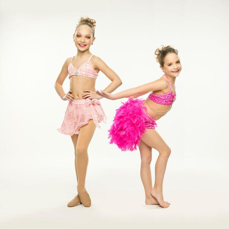 Maddie and Mackenzie Ziegler.