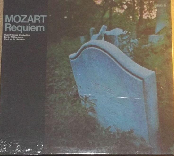 Mozart Requiem Rudolf Kempe Sealed Vinyl Classical Record Album by RASVINYL on Etsy