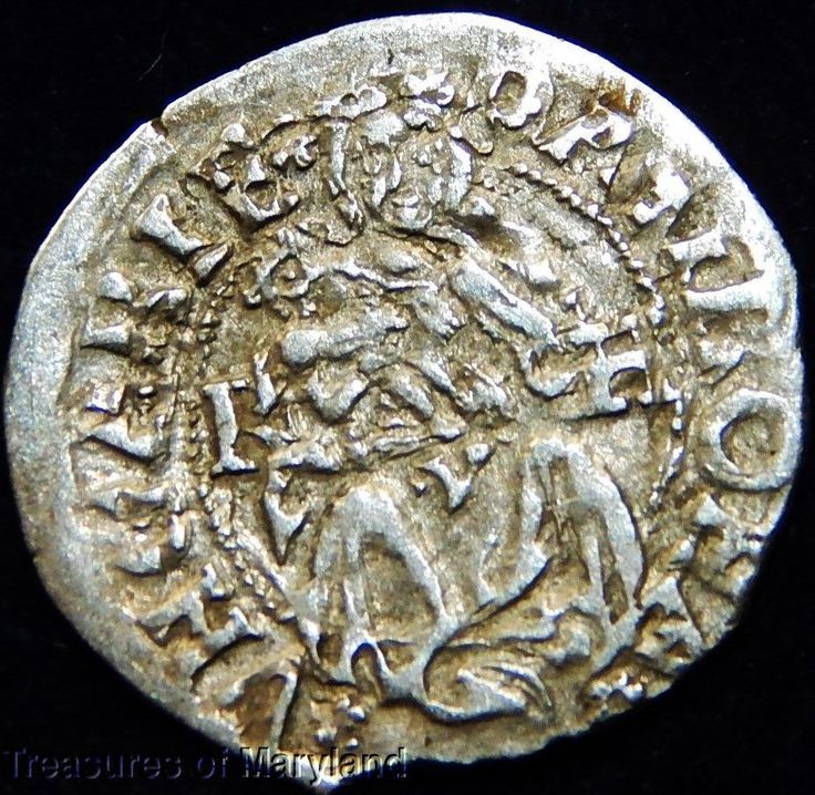 EXCELLENT! 1506 MARY HOLDING BABY JESUS HUNGARIAN DENAR sku #NP1