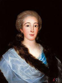 Francisco de Goya . Portrait of doña María Teresa de Vallabriga y Rozas