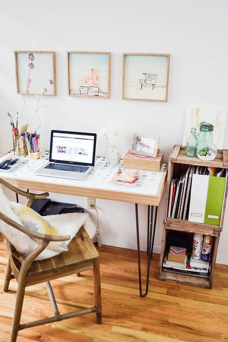 Small Spaces: How to Create a Home Office in a Tiny Apartment