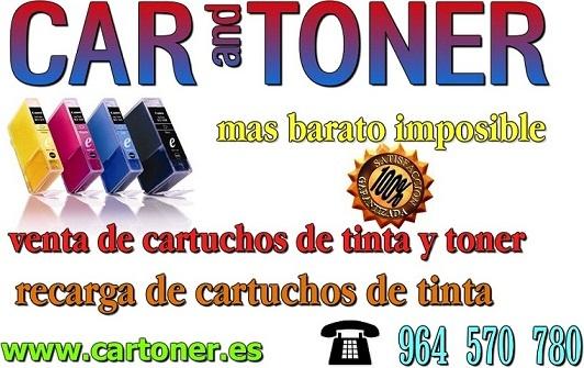 Recarga y venta de cartuchos de tinta y toner compatibles  Anuncios clasificados #informatica en #Castellon #España