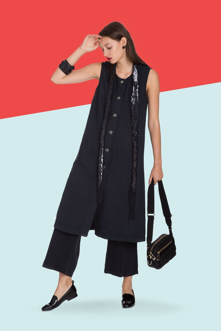 $2,000 In New Clothes Would Look So Good On You #refinery29  http://www.refinery29.com/sweeps-bill-blass-shopping-spree#slide-4  The dramatic proportions make this work-appropriate look special enough for after hours, too....