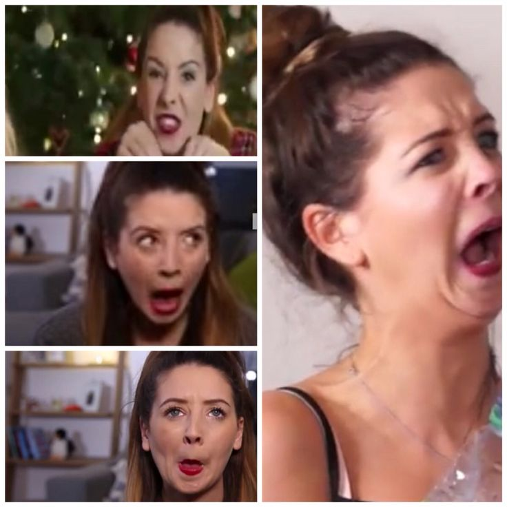 My edit of zoella's funny faces>>>She still looks gorgeous!
