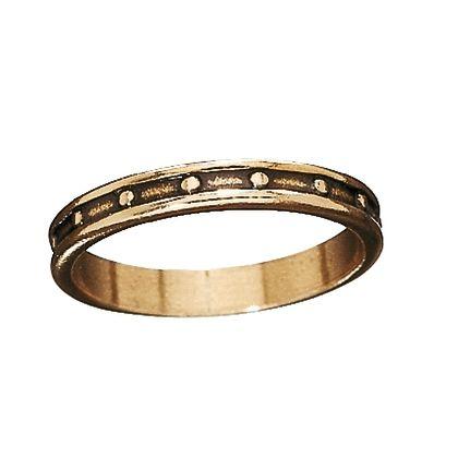 Kalevala Koru / Kalevala Jewelry / RÄISÄLÄ RING / Material: bronze