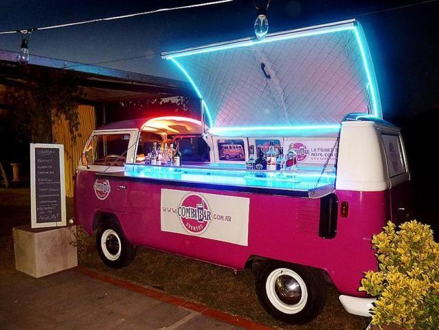 Barras de bares originales buscar con google cocteles for Bar 96 food truck