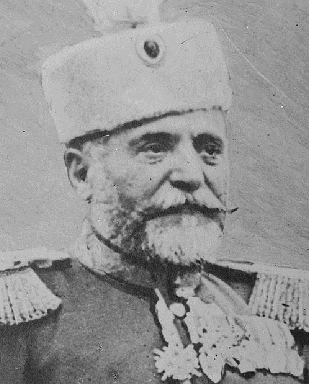Radomir Putnik, also known as Vojvoda Putnik, (24 January 1847 – 17 May 1917) was a first Serbian Vojvoda i.e. Field Marshal and Chief of the General Staff of the Serbian army in the Balkan Wars and in the First World War. He took part in all of the wars that Serbia waged from 1876 to 1917.