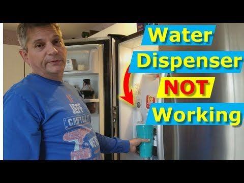 5 Reasons Fridge Won T Dispense Water Inlet Valve Fix Diy Youtube Inlet Valve Inlet Valve