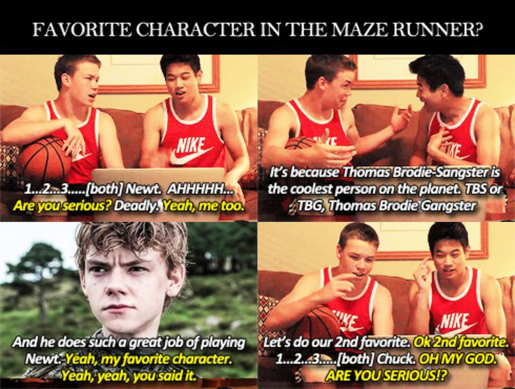 maze runner character changes Maze runner the boys in the glade have formed a makeshift society over the years, with each boy given a job and obeying a set of rules though thomas is initially assigned to work inside the glade, he pushes for a chance to run the lengthy maze passages surrounding the glen, which open up each day.
