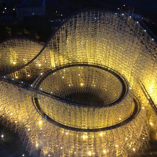 Longest rollar coaster in the world.  Nogoya, Japan.