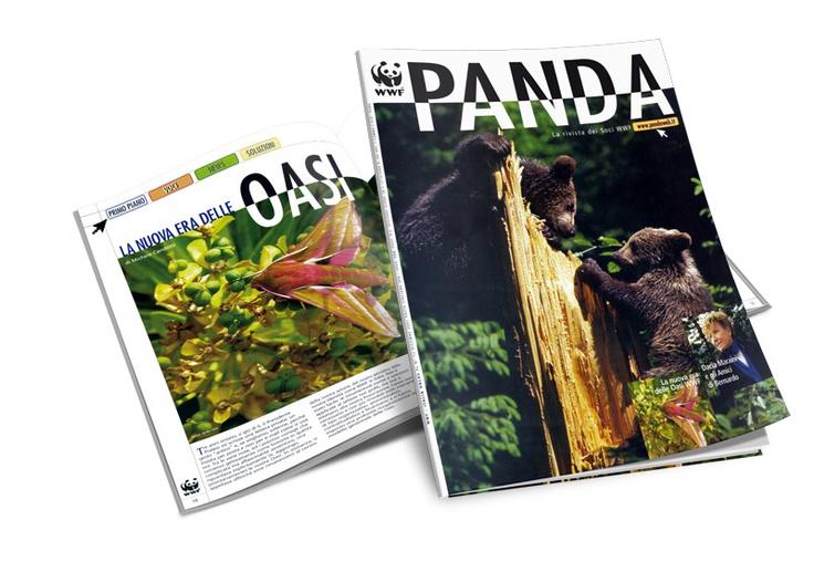 Panda, rivista WWF - restyling