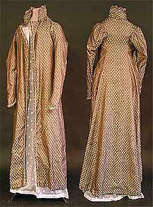 Pelisse Dress Coat c1814  Said to have been worn by Jane Austen