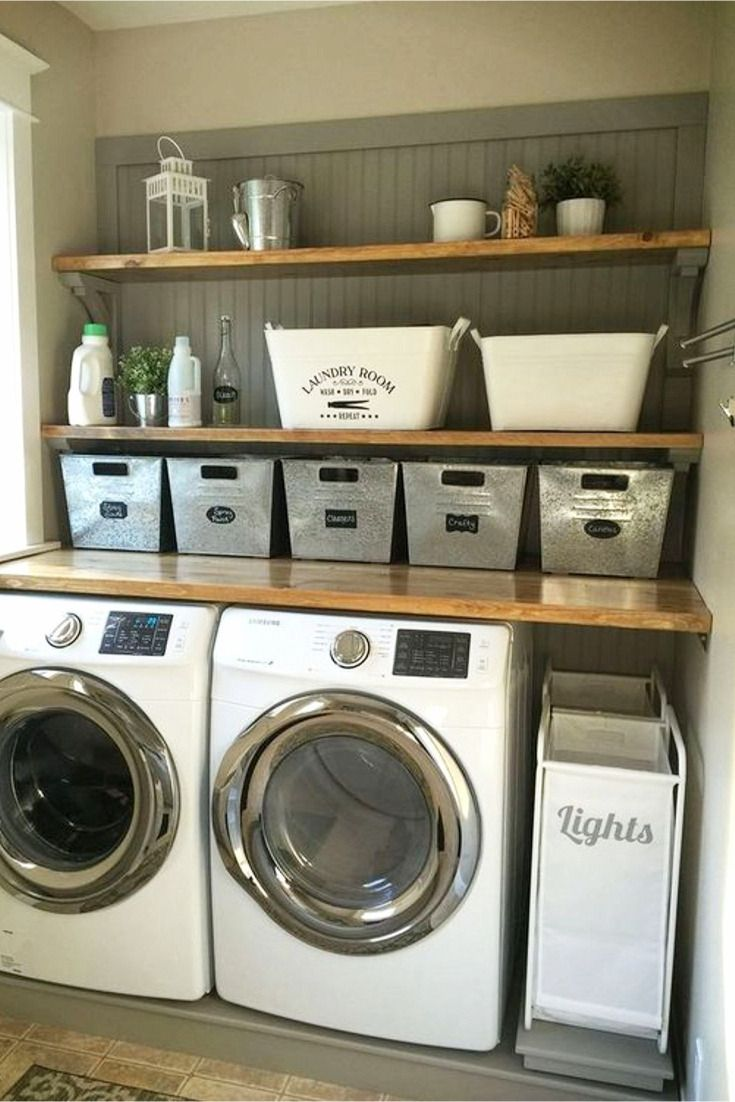 Laundry Nook Ideas We Love Clever Diy Ideas In 2020 Laundry