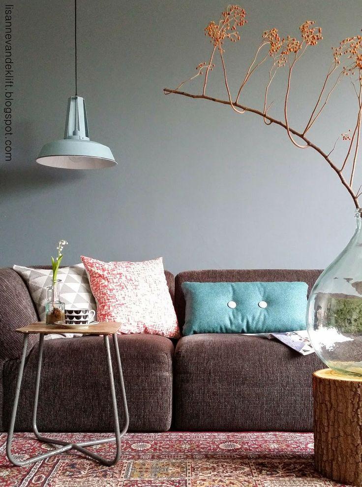Meer dan 1000 idee n over blauw bruine slaapkamers op pinterest bruine slaapkamers blauw - Trend schilderij slaapkamer ...