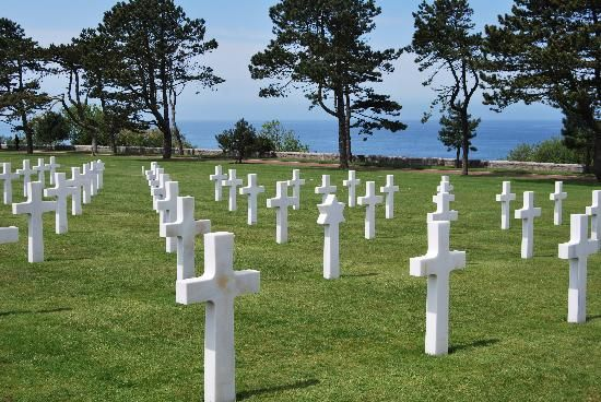 Normandy Cemetery ~ Normandy, France