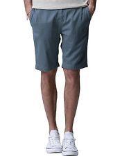NWT Match Mens Chino Shorts Regular Fit Flat Front Cotton INDIGO BLUE US Size 29