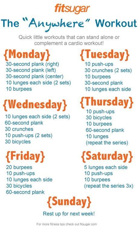 Workout Anywhere ♥✤   Keep the Fitness   BeStayBeautiful