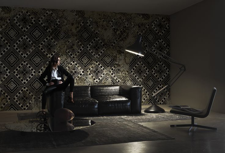 Toxicity www.wallanddeco.com #wallpaper, #wallcovering, #cartedaparati