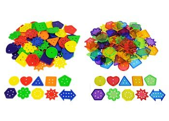 Button Sorting Set – 120 Buttons in 6 Colours