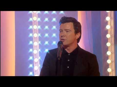 Rick Astley Sings Live - Never Gonna Give You Up - Sexiest Voice ever