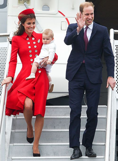 Most memorable moments from the Royal Tour - love little George's expression in this one