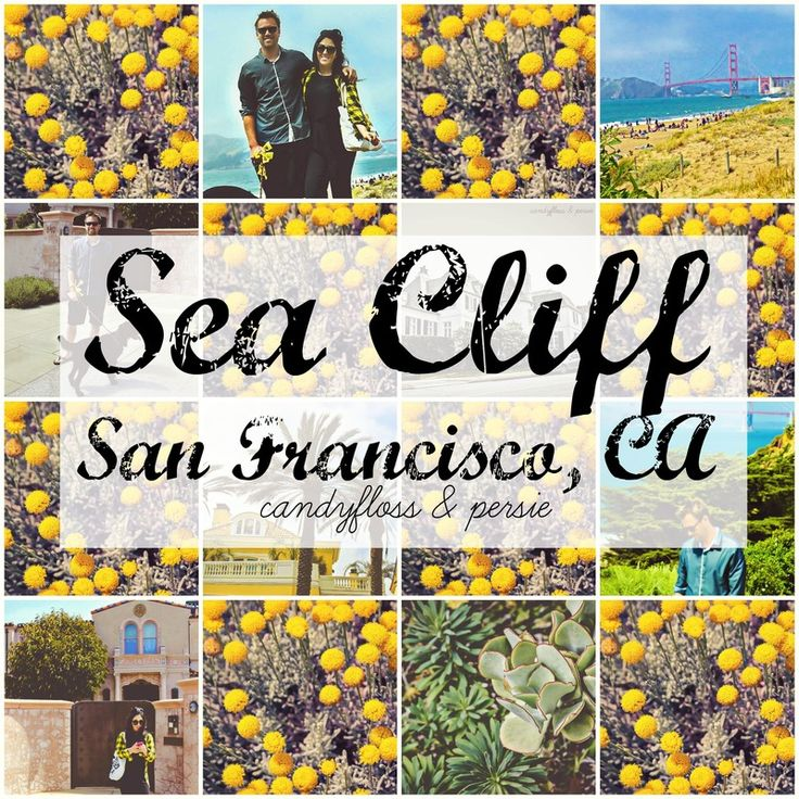 San Francisco MUST SEES! | Sea Cliff | Candyfloss & Persie