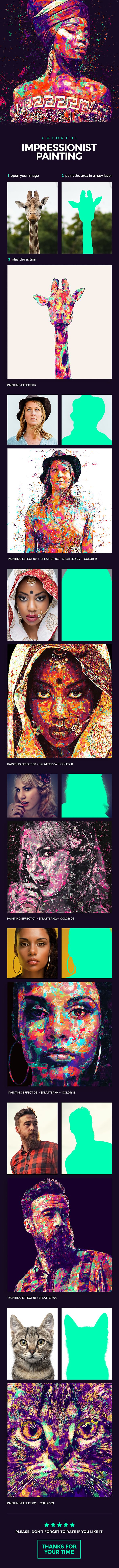 Impressionist Painting Photoshop Action. Download here: https://graphicriver.net/item/colorful-impressionist-painting-photoshop-action/16924846?ref=ksioks
