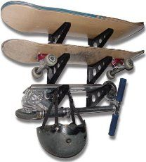 Best Skateboard Racks for Bike, Schools on your Floor or Wall. Use these Skateboard Racks for you Skateboard, Snowboard or Longboards. Keep them save!