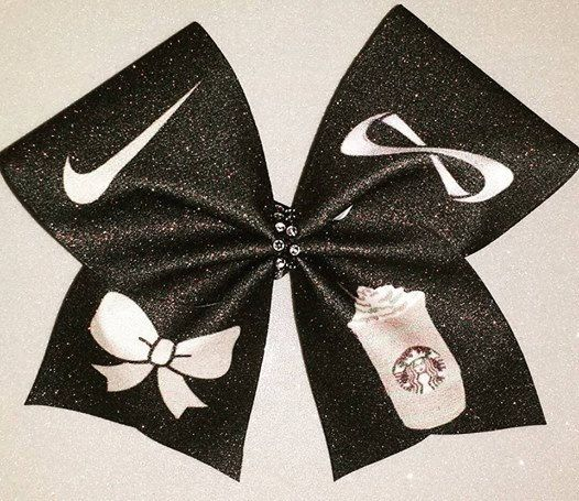 Cheer Bow-Nike Pros Nfinities bows and Starbucks by BOWcasions