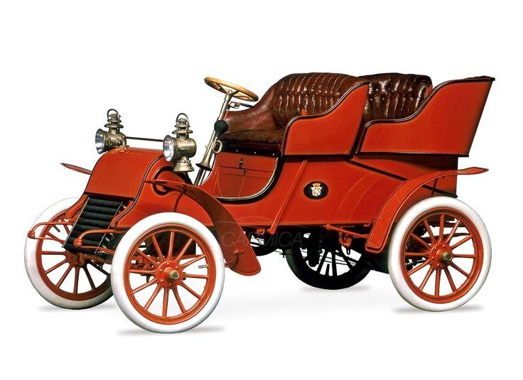 Cadillac Model A Runabout Tonneau '1903–04 First Cadillac Car Первый автомобиль Кадиллак