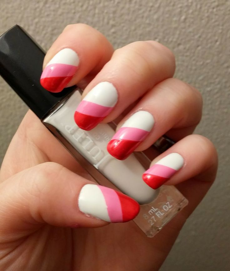 Pinkish White Nail Polish: 1000+ Images About Black!....White!....Red!....Pink! On