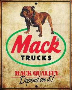 Mack Truck Vintage Sign by ~RocketFoot on deviantART