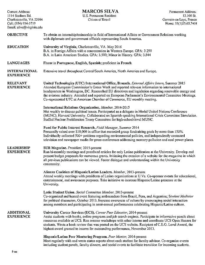 College Application Resume Outline College Admissions Resume