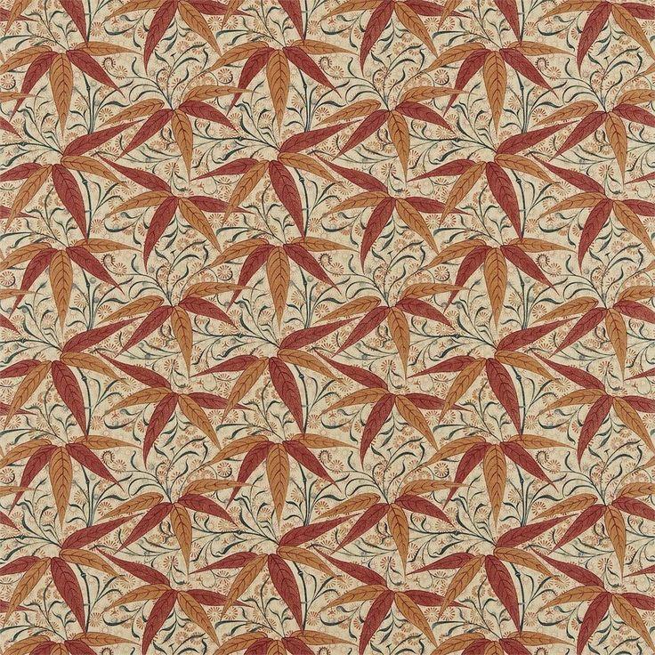 William Morris Bamboo Fabric 222527 - Fallon4Interiors.co