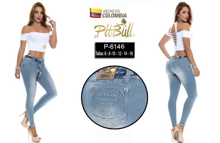 Tu puedes acceder a nuestro catálogo de Pantalones y conocer mucho más de la marca jeans PitBull dando click en el siguiente enlace. vestidosyblusas.com/jeans-mujer