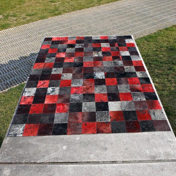 Carving alfombra de piel moderna oscar mix alfombra de - Alfombras de piel baratas ...