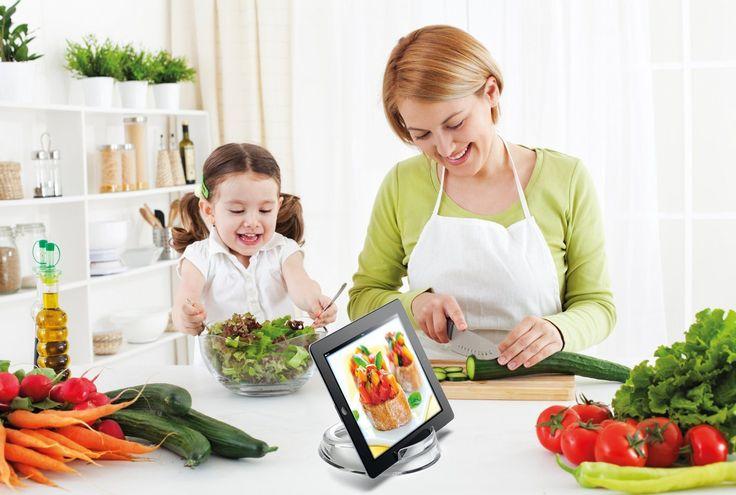 Consigli, gadget e app per cuoche provette con l'iPad