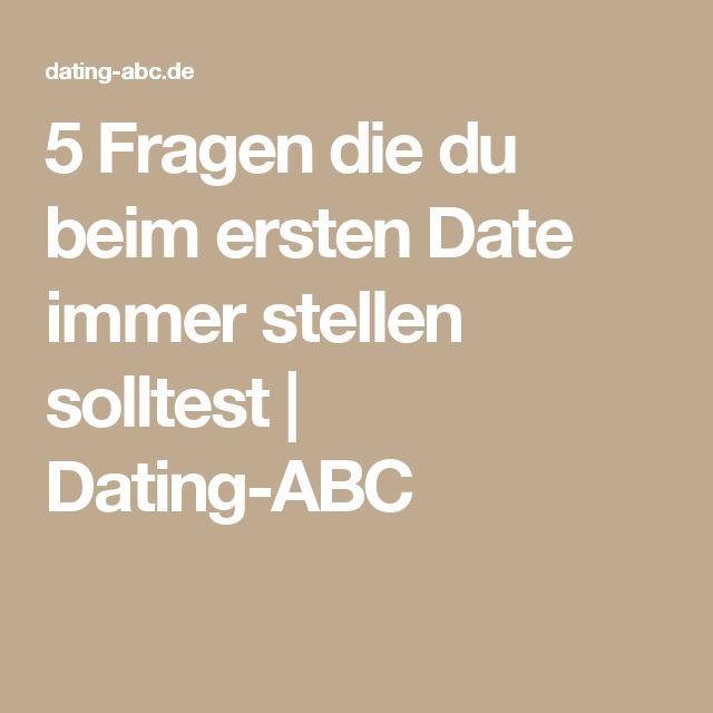 5 Fragen die du beim ersten Date immer stellen solltest | Dating-ABC