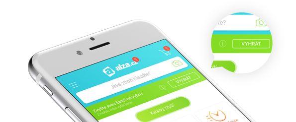 mobilní aplikace Alza.cz