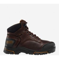 """Adamas 6"""" Brown Met Guard Steel Toe  In 1897 LaCrosse opened its doors manufacturing rubber horseshoes, quickly transitioning into overshoes, rubber boots. Next came jungle boots, pac boots, tennis shoes, boating shoes, moonboots, hip boots, waders, leather boots, mining boots and many more… And through it all we've learned many lessons that have contributed to a century of experience in crafting high quality footwear."""
