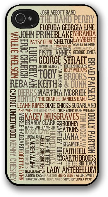 October Wish — Country Music Artists iPhone Case