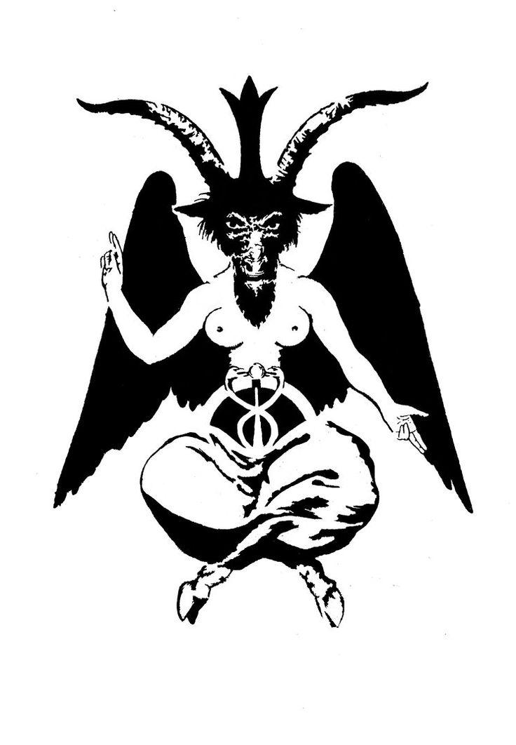 satan stencil Gallery