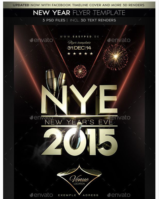 26 best New Year Flyer Template images on Pinterest Party flyer - zombie flyer template