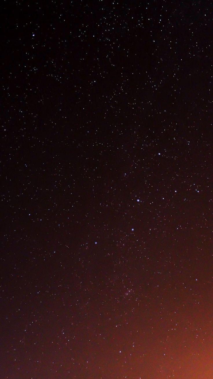 Star Sky Night Space Dark #iPhone #6 #plus #wallpaper