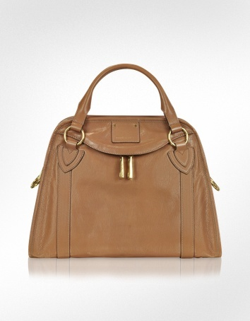 Marc Jacobs The Classic  - Brown Leather Satchel Bag